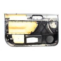 RH Front Door Panel 98-10 VW Beetle Interior Trim - LA7W Silver - 1C1 867 010