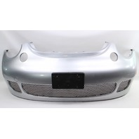 Front Bumper Cover 02-05 VW Beetle Turbo S LA7W Silver - Genuine - 1C0 807 221 L