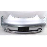 Rear Bumper Cover 02-05 VW Beetle Turbo S LA7W Silver - Genuine - 1C0 807 421 P