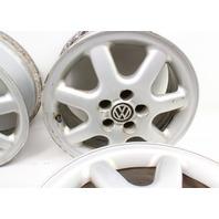 "Set of 4 Stock BBS 15"" Alloy Wheel Rims 96-99 VW Jetta GLX  5x100 VR6 GTI MK3 OE"