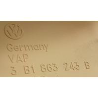Center Console Shifter Trim 01-05 VW Passat B5.5 - Beige - 3B1 863 243 B