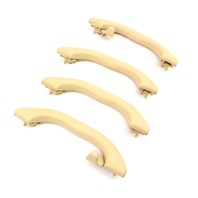 Upper Ceiling Grab Handle Set 01-05 VW Passat B5.5 - Sunshine Beige - Genuine