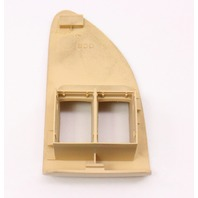 Gas Fuel Door Trunk Switch Trim 01-05 VW Passat B5.5 - Sunshine Beige - Genuine