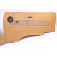 Front Brown Door Panel Cards VW Vanagon T3 Syncro Westfalia - Genuine