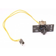 AC A/C ClimateTrim Face Heater Dash Switch 80-91 VW Vanagon T3 Wesfalia