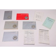 1986 VW Vanagon T3 Westfalia Camper Owners Manual Books