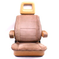 LH Front Brown Bucket Seat Captains Chair 80-91 VW Vanagon Westfalia T3