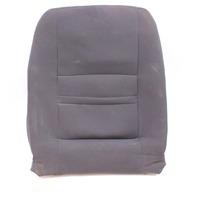 LH Front Seat Back Rest & Cover 04-05 VW Jetta Golf MK4 Dark Grey Cloth Genuine