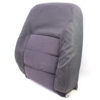 Front Seat Back Rest & Cover 04-05 VW Jetta Golf MK4 Dark Grey Cloth Genuine