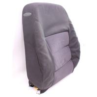 Front Seat Back Rest & Cover 04-05 VW Jetta Golf MK4 Dark Grey Cloth Genuine