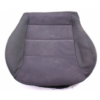Front Seat Cushion & Cover 04-05 VW Jetta Golf MK4 Dark Grey Cloth Genuine