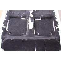 Genuine Black Interior Floor Carpet 99-05 VW Jetta Golf MK4 - 1J1 863 367 AG 07N