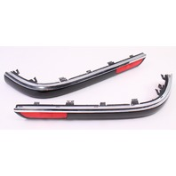 US Spec Bumper Molding Rub Strips 01-05 VW Passat B5.5 Chrome Trim - 3B9 807 792