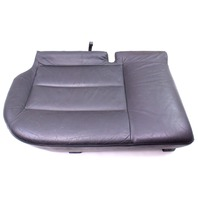 RH Rear Lower Seat Cushion & Cover 01-05 VW Passat Wagon B5.5 Dark Grey Leather