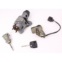 Lock Set Key Ignition Housing Door Handle 01-05 VW Passat B5.5 ~ 4B0 905 851