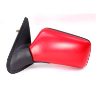 LH Exterior Side View Door Mirror 93-99 VW Jetta Golf GTI Mk3 LY3D Red - Genuine