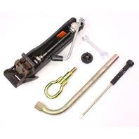 Spare Tire Trunk Tool Kit Jack Lug Wrench 93-99 Jetta Golf GTI Mk3 ~ 1H0 011 031