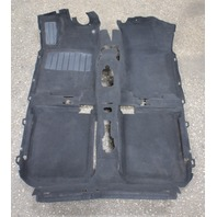 Interior Black Floor Carpet 93-99 VW Jetta Golf Mk3 - Genuine -