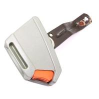 RH Front Seat Belt Receiver 81-84 VW Rabbit GTI MK1 Grey ~ Genuine ~ 171 857 756