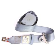 RH Front Seatbelt Shoulder Belt 80-83 VW Rabbit Pickup MK1 - Grey - 179 857 706