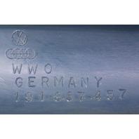 LH A Pillar Interior Windshield Trim Panel 85-92 VW Jetta Golf MK2 ~ 191 867 457