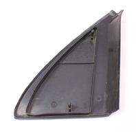 LH Interior Mirror Door Corner Trim 85-92 VW Jetta Golf MK2 - 191 837 993