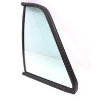 LH Rear Quarter Side Window Door Exterior Glass 85-92 VW Jetta Golf 4 Door Mk2