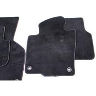 Complete Floor Mat Carpet Set 06-10 VW Passat B6 Black ~ Genuine ~ 3C1 863 011 A