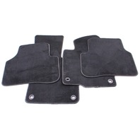 Complete Floor Mat Carpet Set 06-10 VW Passat B6 Black ~ Genuine ~ 3C1 863 011 A