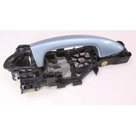 LH Rear Exterior Door Handle 06-10 VW Passat B6 LB5M Arctic Blue 3C0 837 885 E