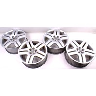 "17"" Wheel Set Long Beach Alloy Rim 99-05 VW Jetta Golf GTI MK4 - 5x100 Stock"