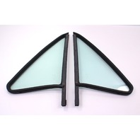 Non Vented Door Quarter Window Glass & Seal 75-84 VW Rabbit Pickup Jetta MK1 ~