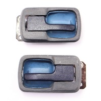 Blue  Interior Door Pull Handle VW Jetta Rabbit Caddy LX MK1 Vanagon T3
