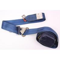 LH Front Seatbelt Shoulder Belt 80-83 VW Rabbit Pickup MK1 - Blue - 179 857 705
