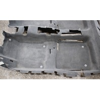 Genuine Grey Interior Floor Carpet 99-05 VW Jetta Golf MK4 - 1J1 863 367 AG