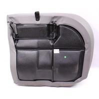 LH Rear Back Seat Cushion & Cover 99-05 VW Jetta Golf MK4 Grey Leather ~ Genuine