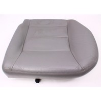 LH Rear Back Seat Cushion & Cover 99-05 VW Jetta Golf MK4 Grey Leather ~ Genuine