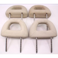Complete Headrest Head Rest Set 98-05 VW Beetle - Beige Cloth - Genuine