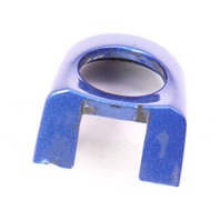 LH Exterior Door Handle Thumb Cap 98-10 VW Beetle LW5Y Blue - 1C0 837 879