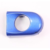 LH Exterior Door Handle Thumb Cap 98-10 VW Beetle LW5Y Blue - 1C0 837 879