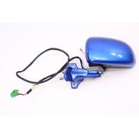 LH Side View Mirror & Hinge 98-00 VW Beetle - LW5Y Techno Blue - Genuine