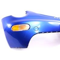 Front Bumper Cover 01-05 VW Beetle - LW5Y Techno Blue - Genuine - 1C0 807 221 D