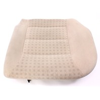 LH Rear Back Seat Cushion & Cover 99-05 VW Jetta Golf MK4 Beige Cloth - Genuine