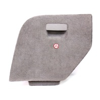 LH Trunk Side Carpet Door VW Jetta Wagon MK4 Hatch Access Panel - Grey - Genuine