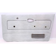 RH Front Grey Door Card Panel 75-84 VW Rabbit Pickup Caddy MK1 - Genuine