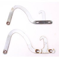 Hood Hinges Set VW Rabbit Jetta MK1 - Grey - Genuine - 175 823 301 & 302