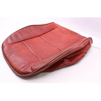 Front Red Vinyl Lower Seat Cover 81-84 VW Rabbit Pickup Caddy MK1 - Genuine