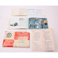 1981 Volkswagen Rabbit Pickup Caddy Truck MK1 Owners Manual Book VW