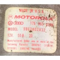 Motorola Alternator 80-84 VW Rabbit MK1 Diesel 55 Amp - Genuine - 175 903 023 M