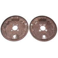 Rear Drum Brake Backing Plate Set VW Jetta Golf Rabbit Pickup Mk1 MK2 MK3 200mm